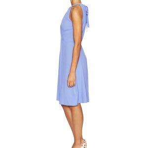 kate spade Dresses - Kate Spade Pale Aster periwinkle crepe dress